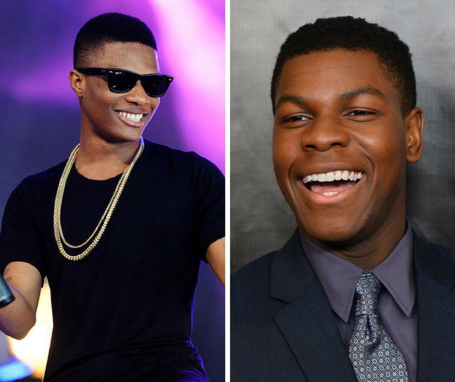 John boyega and wizkid