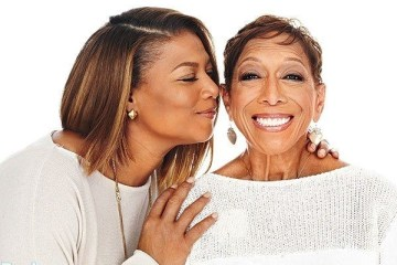 queen latifah and mum