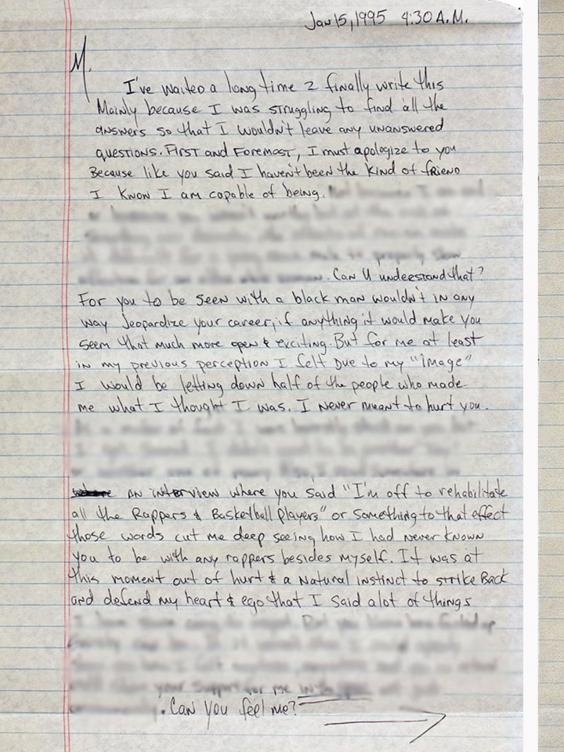 Tupac's Breakup Letter To Madonna In Full - AccelerateTv