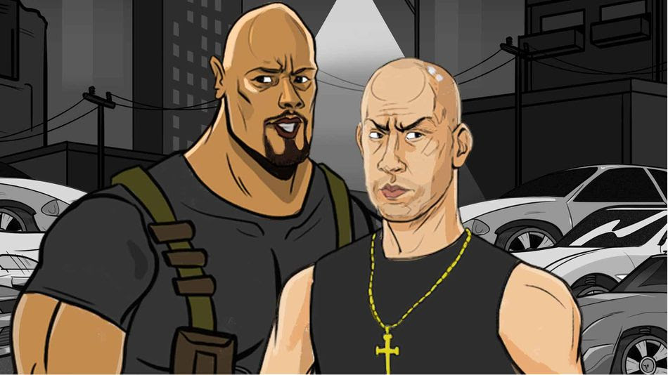 fast and furious animation