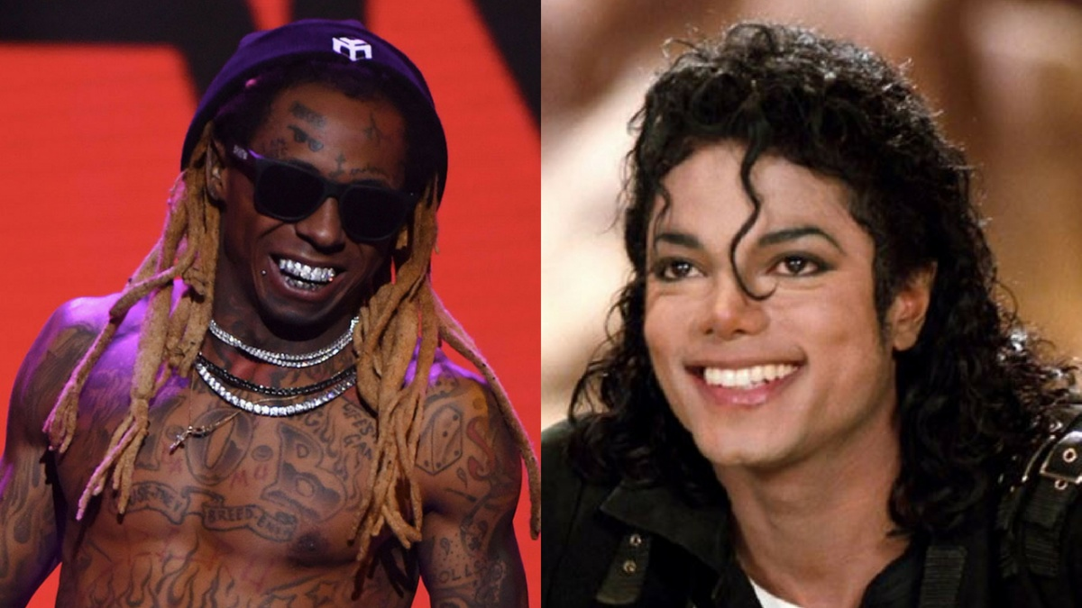 michael jackson and lil wayne
