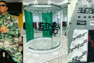 wizkid pop up shop