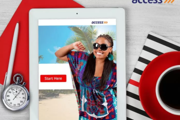 access bank open account