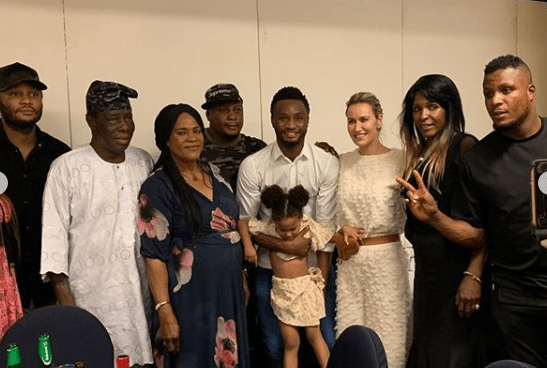mikel obi and family