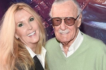 stan lee and daughter