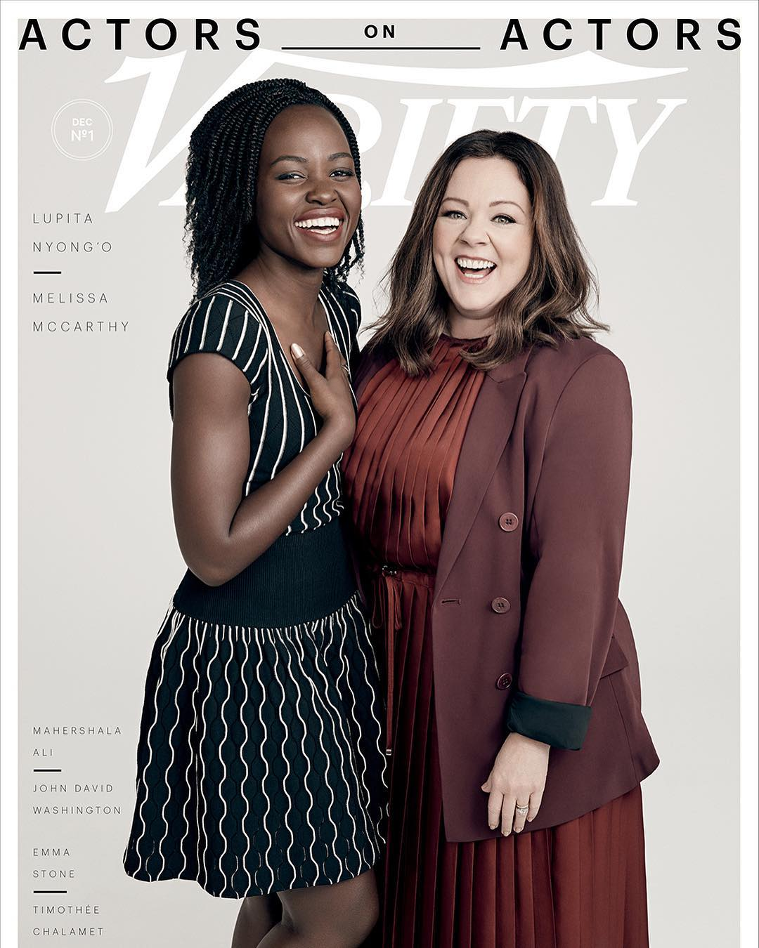melissa mccarthy and lupita