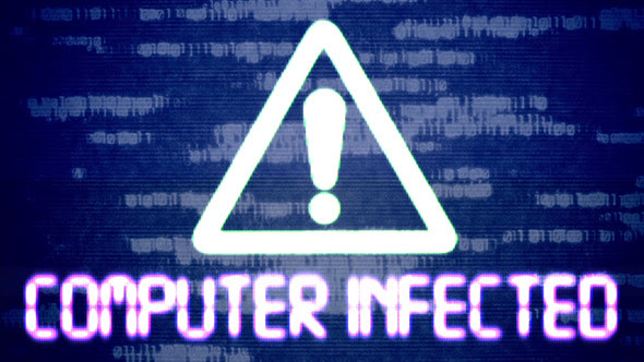 infected computer