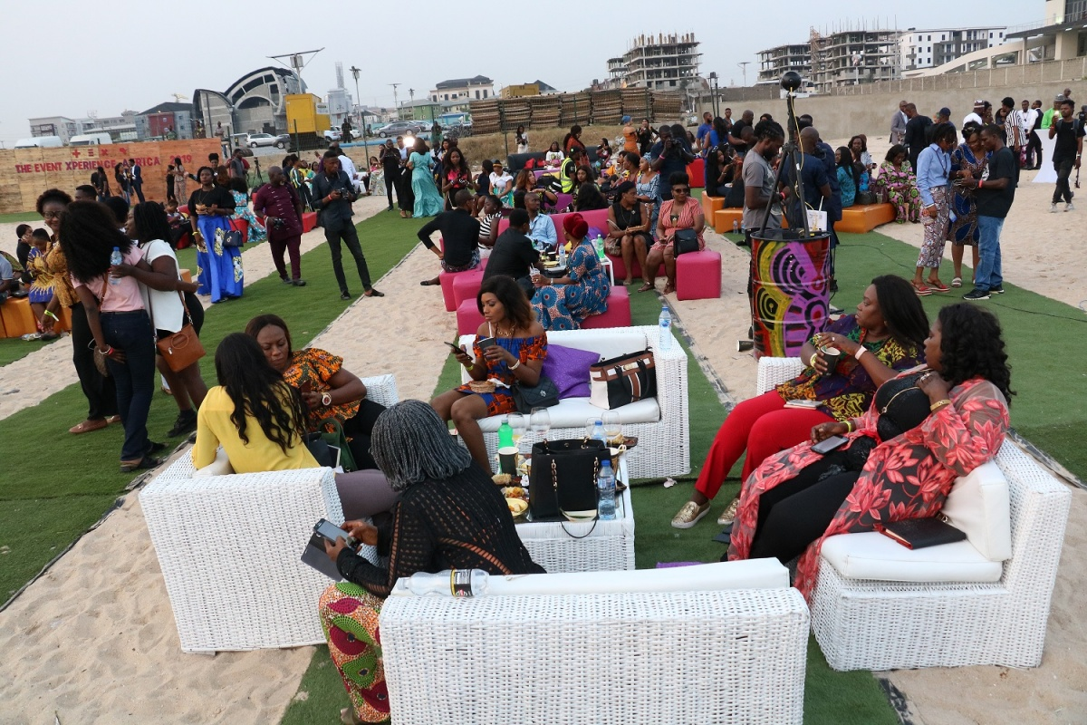 Cross section of attendees at the opening cocktail of The Event Experience Africa that held in Lagos recently