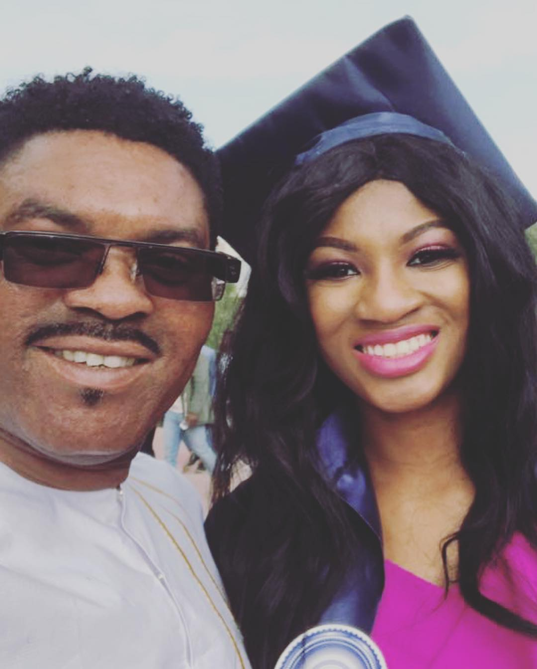 omotola jalade's daughter