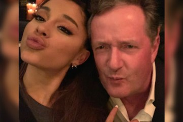 ariana grande and piers morgan