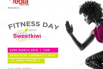 sweet kiwi Fitness day Flyer
