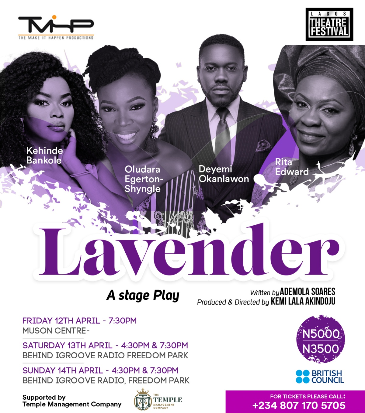 Lavender - A Stage Play by kemi lala akindoju