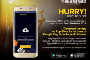 accelerate app filmmaker project