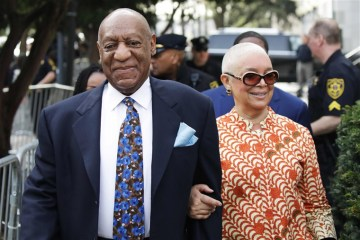 bill cosby and wife