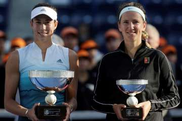 Victoria Azarenka's Injury Hands Monterrey Open Title To Garbine Muguruza
