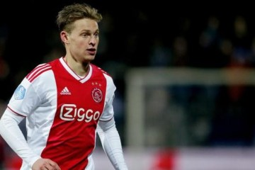 The Ajax star De Jong
