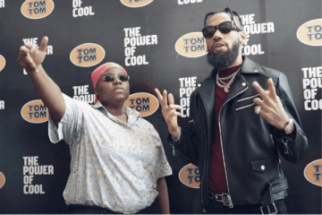 teni and phyno, tomtom endorsement