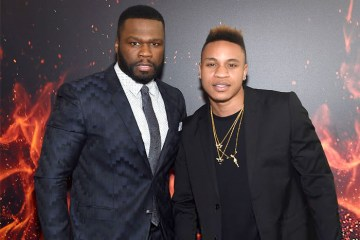 Rotimi and 50 cent