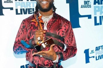 BUrna Boy bet awards