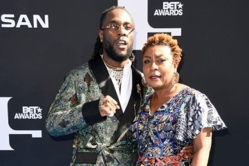 burna boy and mum