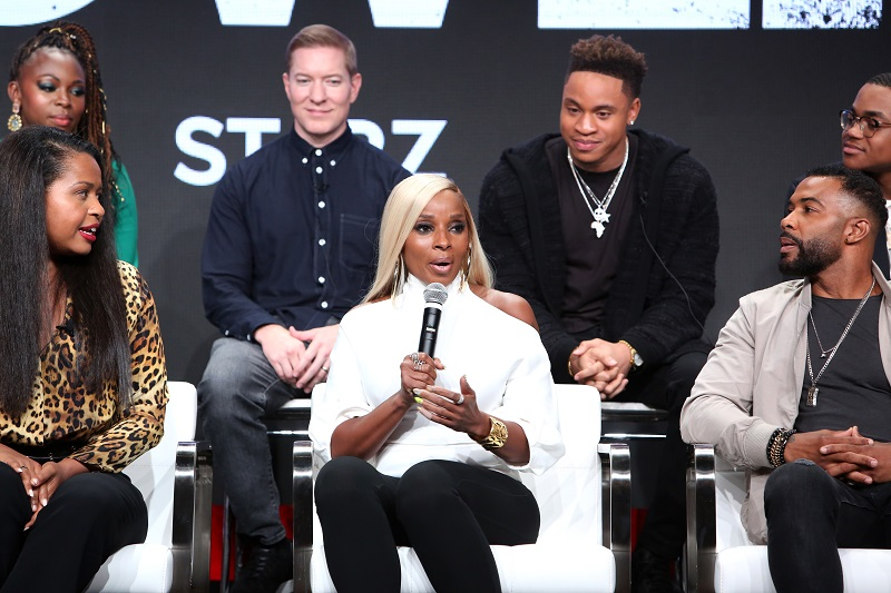 Mary J Blige Power accelerate tv