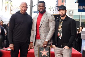 50 cent walk of fame