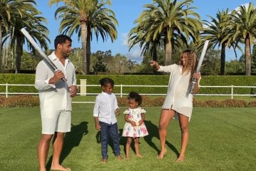 Ciara and Russel Wilson
