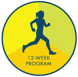 running person program logo