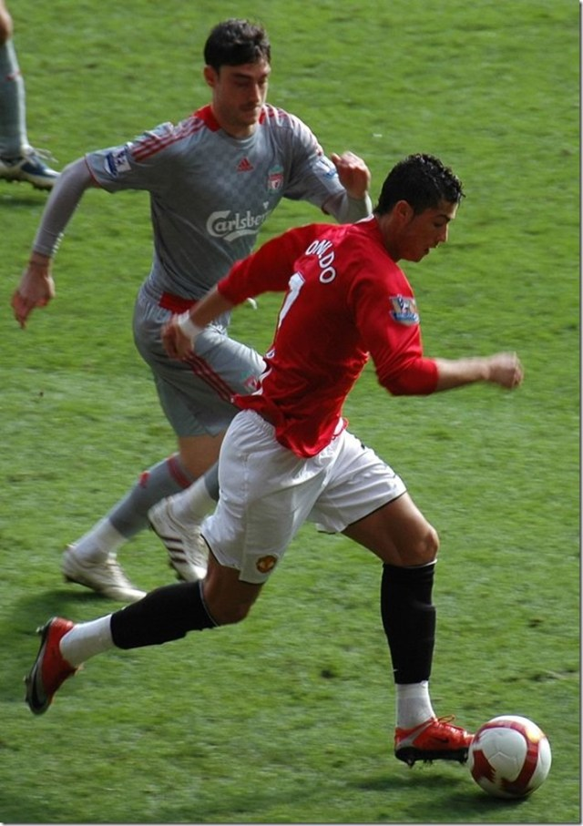 Ronaldo-masse graisseuse de 7%