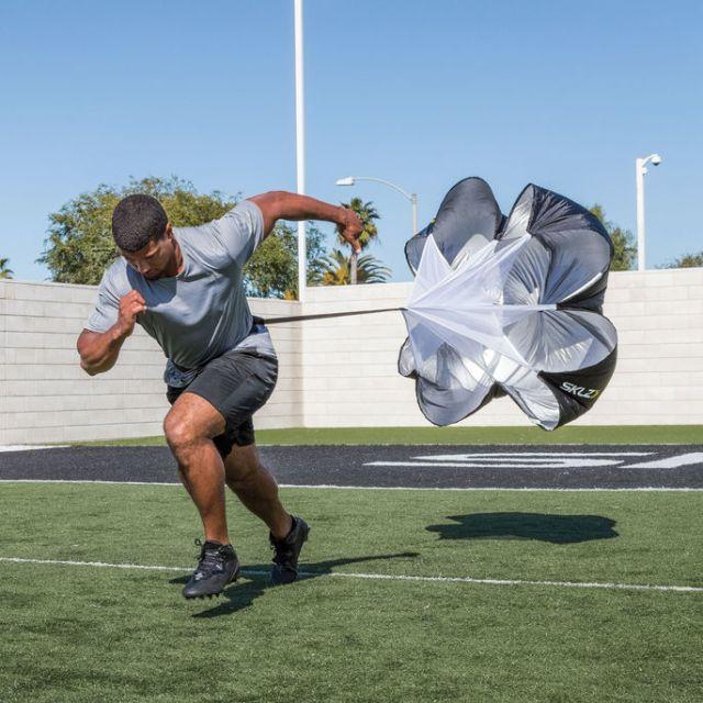 Sprint avec parachute