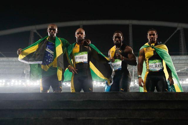 Les jamaicains sont les rois du 100 mètres
