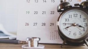 Image: Clock and Calendar