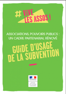 guide usage subvention