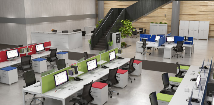 Open Concept Office Environments Accent Environments