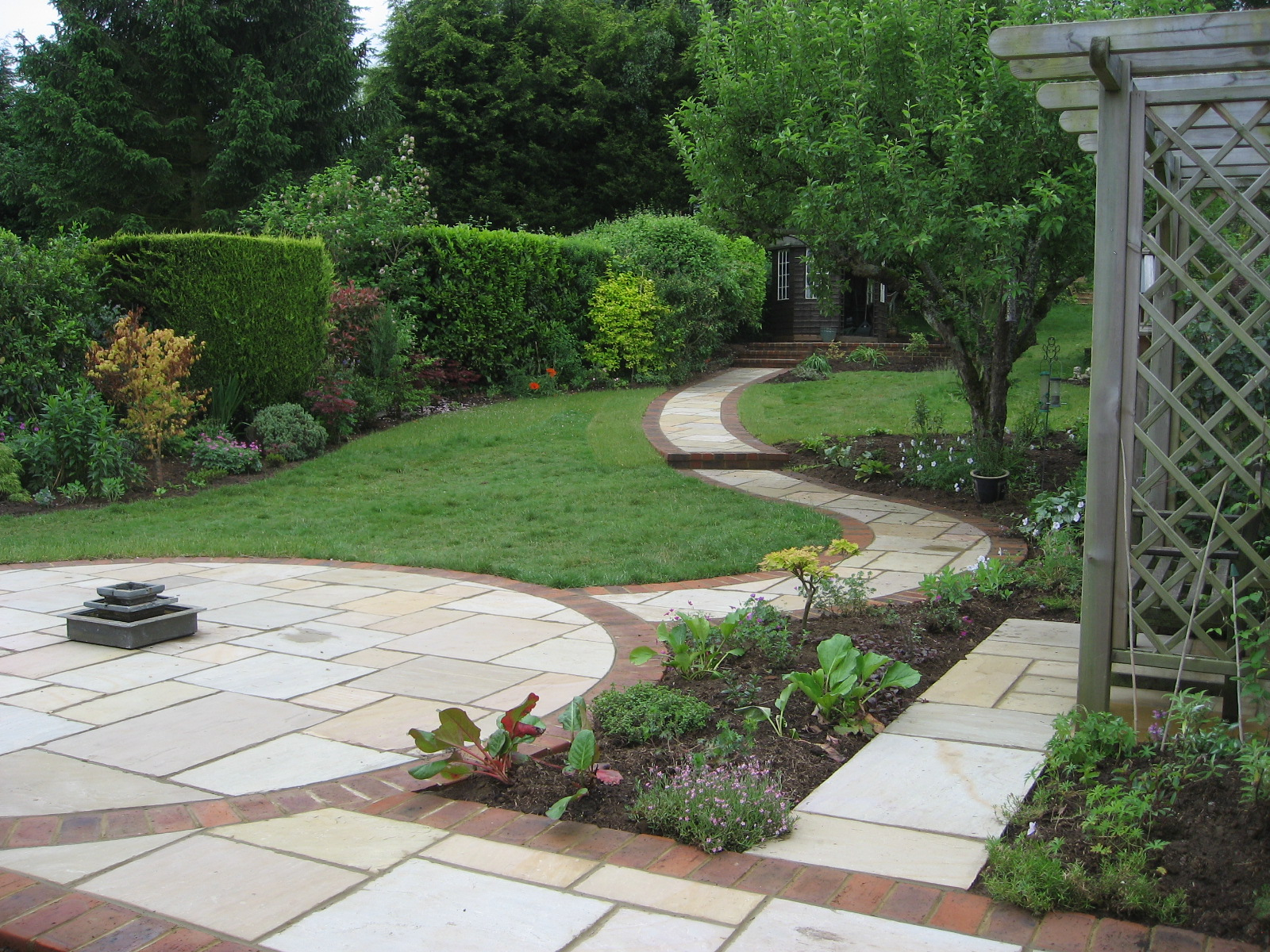 March | 2013 | Accent Garden Designs on Backyard With Slope Ideas  id=33098