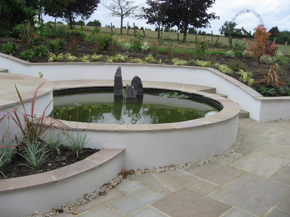 Steeply Sloping Garden | Accent Garden Designs on Downward Sloping Garden Ideas id=58094