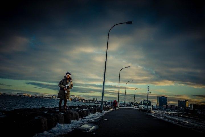 woman-at-reykjavik-harbor