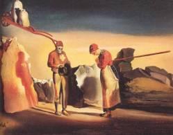 Salvador Dalí. L'atavisme du crépuscule, 1934.