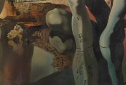 Salvador Dalí. Detall de Metamorfosi de Narcís.
