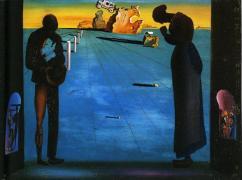 """Salvador Dalí. Un autre """"Angélus"""", 1932."""