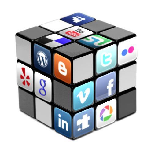 cubo redes sociales