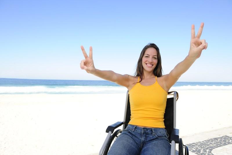 feliz discapacidad