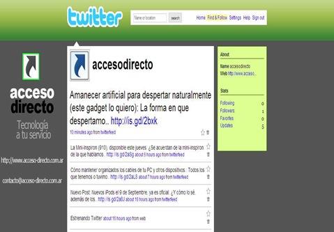 Twitter - accesodirecto