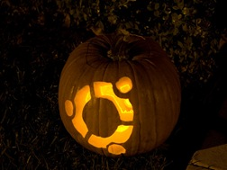 Halloween Pumpkin Ubuntu