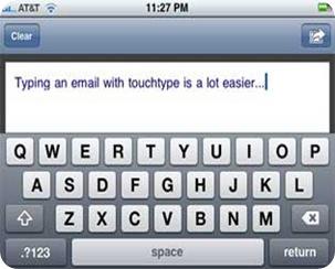 iphonetouchtype