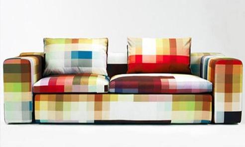 sofa pixelado