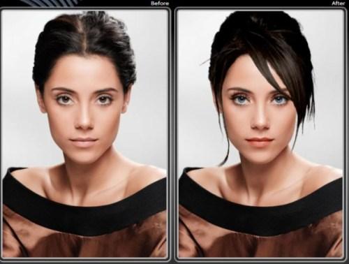 Cambio de look virtual
