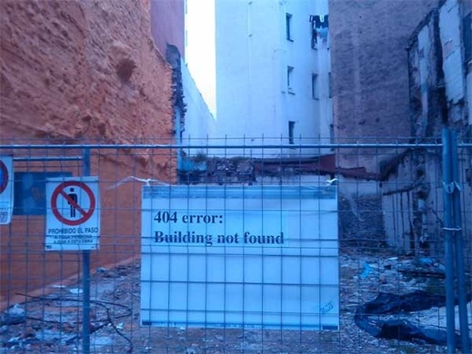 404 Edificio no encontrado