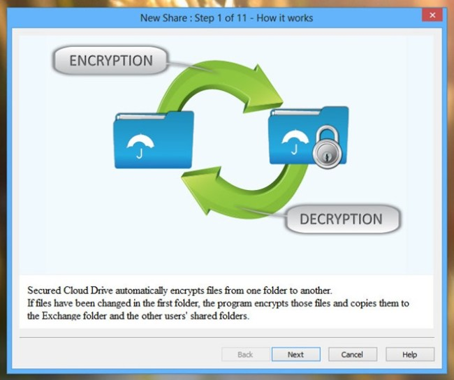 Secured-Cloud-Drive_Wizard-Step-1