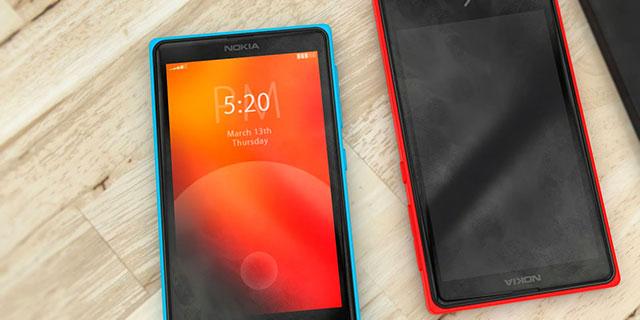Nokia X Ilustracion